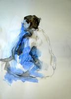 Blue Nude, Seated.